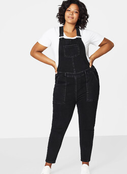 Slim Overall aus Denim