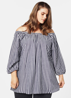 Off-Shoulder Oberteil