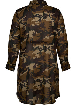 Kleid mit Military-Muster