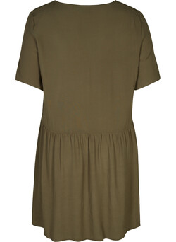 Tunic with short sleeves