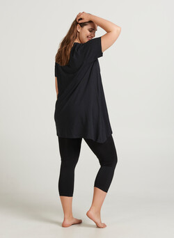 Nahtlose 3/4 Leggings